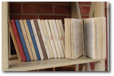 Diary Shelf